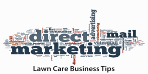 Direct mail marketing campaigns for lawn care business owners by Turf Books